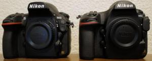 D810とD850前から比較