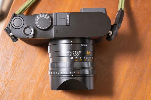 Leica Q2のシンプルな作りの良さ